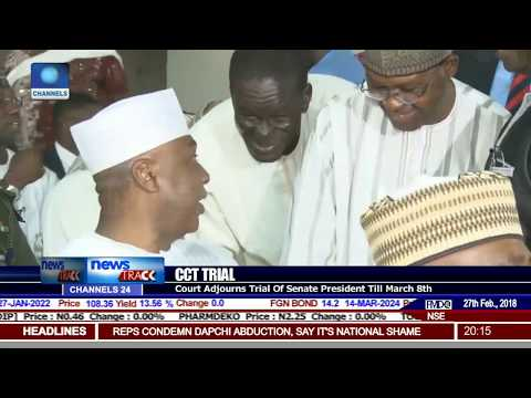 Court Adjourns Saraki's CCT Trial Till March 8th