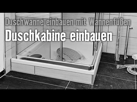 Version 2015 Duschwanne einbauen mit Wannenfüßen - Kapitel 4 | HORNBACH Meisterschmiede