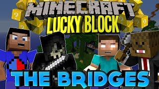Minecraft: LUCKY BLOCK BRIDGES w/JeromeASF, Vikkstar123HD,&Taz! (Modded Mini-Game)