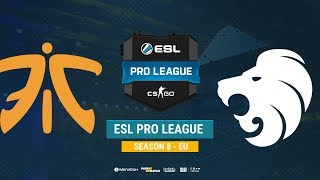 Fnatic vs North - ESL Pro League S8 EU - bo1 - de_train [CrystalMay]