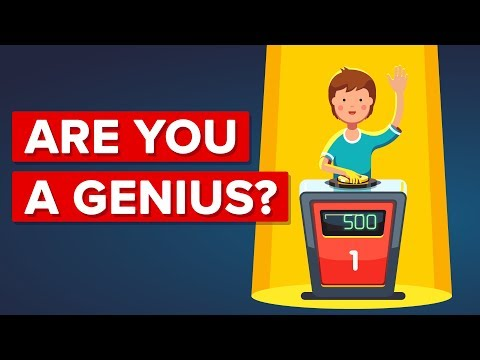 Do You Have The Traits Of A Genius?