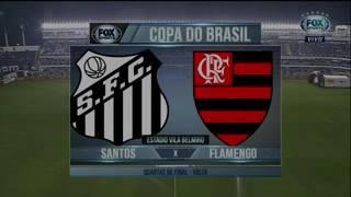 Melhores Momentos: Santos 4 x 2 Flamengo - Copa Do Brasil 2017