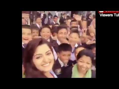Pori Moni New Selfie Video During Shooting Time - পরীমনি নতুন ভিডিও ২০১৬