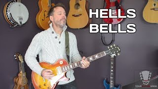How To Play Hells Bells on the Guitar
