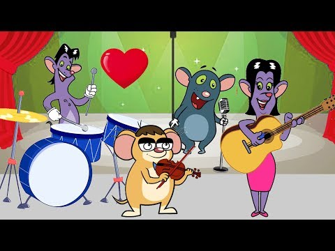 Rat-A-Tat |'Lady Larry's Musicshow & Cartoons Compilation 37~44'| Chotoonz Kids Funny Cartoon Videos