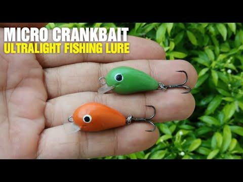 Video Making Ultralight Fishing Lure - Micro Crankbait download in MP3, 3GP, MP4, WEBM, AVI, FLV January 2017