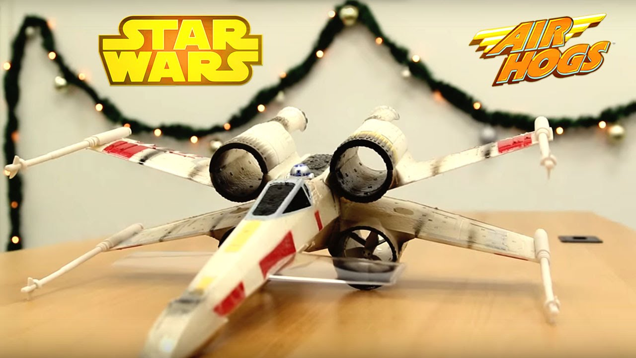 STAR WARS – RC Speeder Bike, X-Wing & MORE!