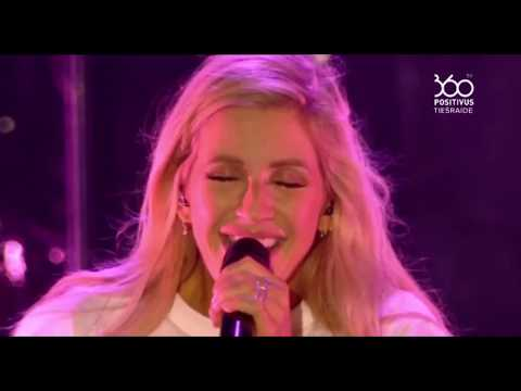 Ellie Goulding - Something In A Way You Move (Positivus festival 2017 live)