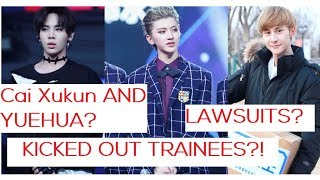 Video Cai Xukun joining YUEHUA? + Lawsuit // THREE Trainees KICKED OUT ? [ IDOL PRODUCER RUMOURS + DRAMA] MP3, 3GP, MP4, WEBM, AVI, FLV April 2018
