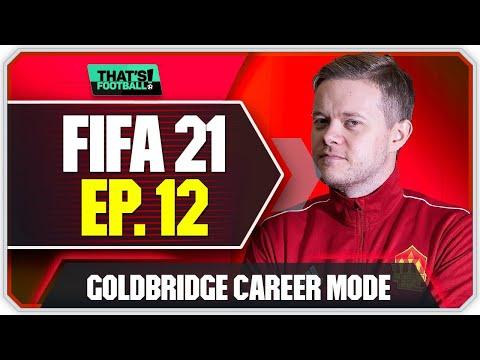 FIFA 21 MANCHESTER UNITED CAREER MODE! GOLDBRIDGE! EPISODE 12