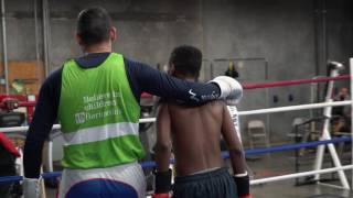 Amir Khan, the former world champion boxer and Barnardo's ambassador, is fronting a new TV advertising campaign during Ramadan 2017 to raise vital funds for the UK's largest children's charity.The advert, which shows Amir Khan teaching a young person to box, asks for people to donate £5 to help the most vulnerable children in the country to become champions.    Find out more: http://ow.ly/UEet30cs8id
