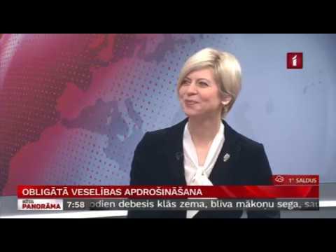 """Veselības ministres Andas Čakšas saruna LTV """"Rīta Panorāma"""""""