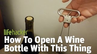 Waiters' corkscrews are effective, once you know how to use one. Expensive mechanical openers are...well, expensive. This is $5, and so simple anyone can use it.Read more: http://lifehacker.com/the-easiest-way-to-open-a-bottle-of-wine-is-with-a-two-1790437988Lifehacker: Tips and downloads for getting things done.http://lifehacker.com/