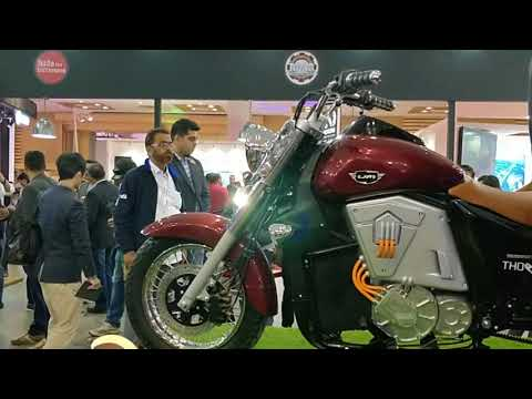 UM Renegade Thor Electric Cruiser with Gears - Price 4.9  lakh  - specs and details - Auto Expo 2018