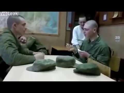 俄羅斯軍人惡整同僚,不准翻臉