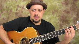 Jason Mraz - The Remedy - Acoustic Guitar Song Lessons