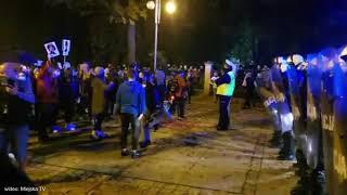 SZTURM NA JASNĄ GÓRĘ! Protest kobiet. Policja użyła gazu.