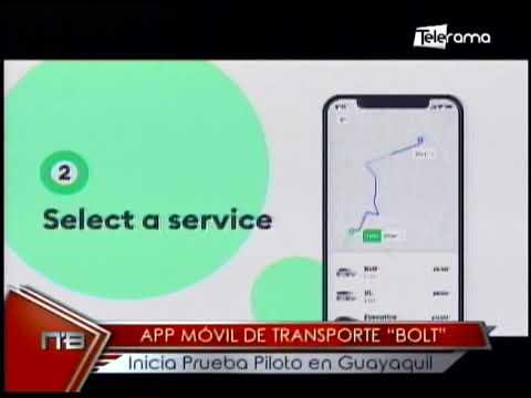 App móvil de transporte Bolt inicia prueba piloto en Guayaquil