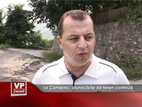 La Comarnic, alunecările de teren continua