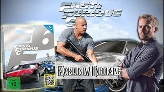 Nonton Fast & Furious 6 Steelbook Limited Edition Blu-ray unboxing Film Subtitle Indonesia Streaming Movie Download