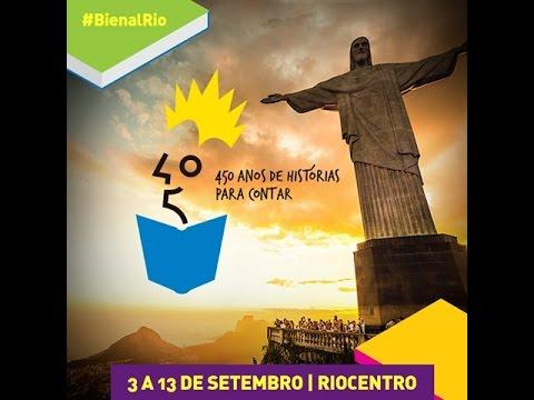 Livro 21 Dias Nos Confins do Mundo - Lançamento Bienal do Rio 2015