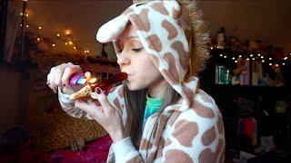 A Giraffe Smoking Out Of A Giraffe by Silenced Hippie