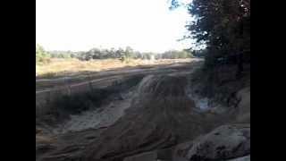 4. Yamaha warrior vs Polaris trail boss 330 on small sand track Calverton mx 2012
