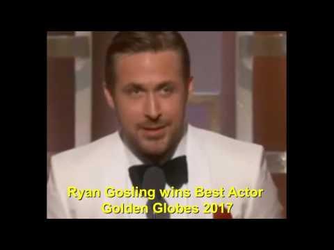 Most Ryan Gosling wins Best Actor Golden Globes 2017 (видео)