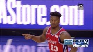 Jimmy Butler   Highlights vs Denver Nuggets (2.8.19)