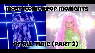 Video The most iconic kpop videos of all time! (part 2) (funny/legendary moments) MP3, 3GP, MP4, WEBM, AVI, FLV Februari 2019