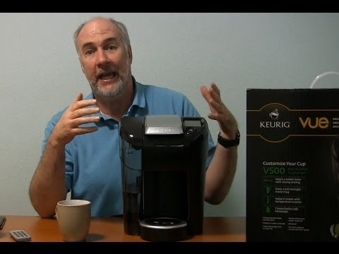 Keurig Vue V500 Single Cup Coffee Maker Review | EpicReviewGuys