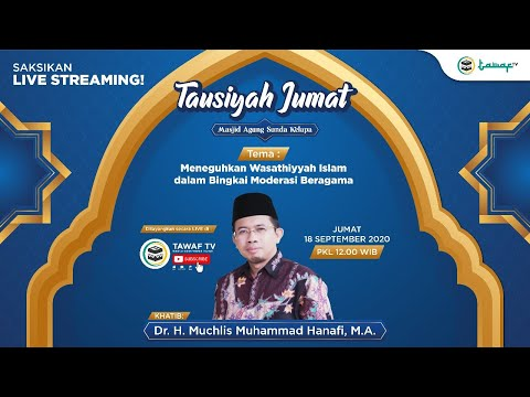 LIVE STREAMING | Tausiyah Jumat dari Masjid Sunda Kelapa