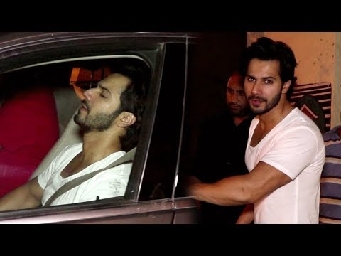 Varun Dhawan Looks Upset On His Birthday, Doesn't