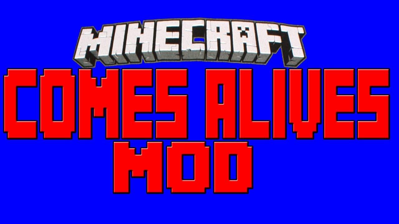 Minecraft 1.7.2/1.7.10 – Descargar E Instalar Comes Alive Mod