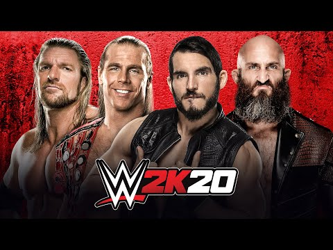 DX vs. Johnny Gargano amp Tommaso Ciampa WWE 2K20 match simulation