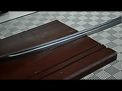 Ketajaman Pedang Samurai by Malaysian Boy!
