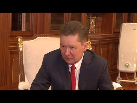 "Head of State had a meeting with ""Gazprom"" top manager"