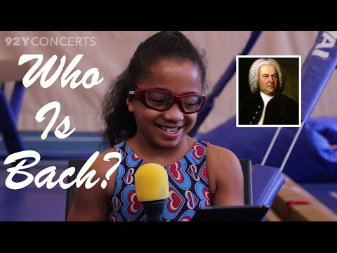 "Kids Answer The Question: ""Who Is Bach?"" In honor…"