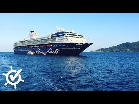 Mein Schiff 1: Live-Rundgang bei TUI Cruises - Schi ...