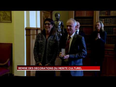 Presentation of Medals of the Order of Cultural Merit H. R.H. Princess of Hanover