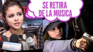 ¿Selena Gómez Se Retira de La Música??