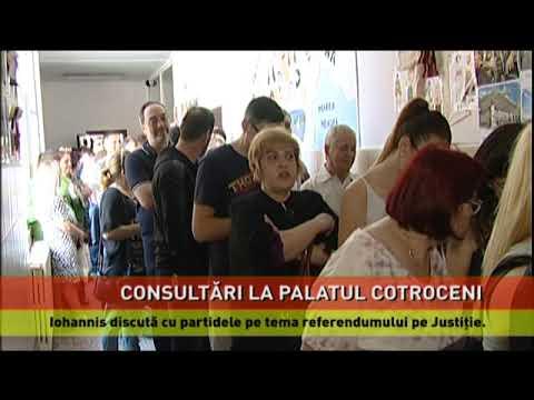 Consultări la Cotroceni, pe tema referendumului pe Justiție