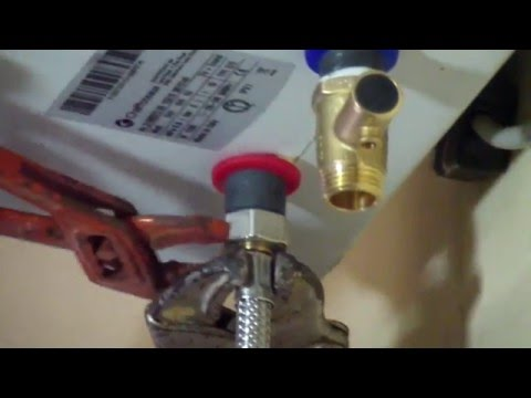 Come installare uno scaldacqua elettrico . how to install an electric water heater