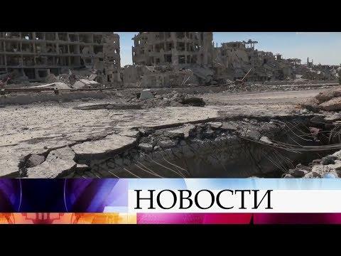 ВВС Израиля нанесли авиаудары по военному аэродрому в провинции Хомс. - DomaVideo.Ru