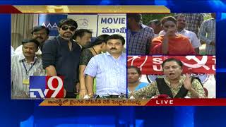 Video POW Sandhya counters Jeevitha || Tollywood Casting Couch - TV9 MP3, 3GP, MP4, WEBM, AVI, FLV April 2018