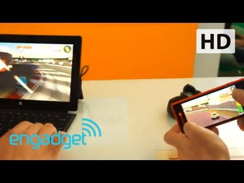 Windows Phone Middleware Demo | Engadget at GDC 2013
