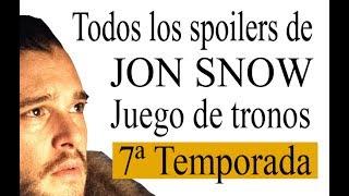 Reunidos en un único videos todas las filtraciones y spoilers sobre Jon Snow para la 7ª temporada de Juego de Tronos. Game of thrones Links del análisis de ...