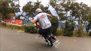 Download Lagu biker`s stunt and paskines stunt (sonido sobre ruedas medellin) Mp3