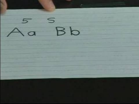 Home School Tutoring : Teaching Kids to Write the Alphabet