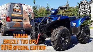 7. Yamaha Grizzly 700 2019 Special Edition Blue & White PROMO